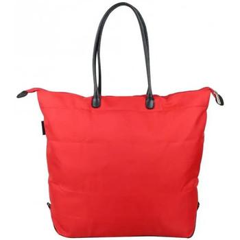 Sacs Femme Cabas / Sacs shopping Duolynx Sac cabas seau toile souple pliable  L Rouge