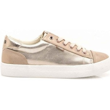 Chaussures Femme Baskets basses MTNG ZAPATILLAS  MUJER 69239-C39077-GOLDEN CITY METAL PINK CRACK MATE ROSA