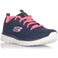 Chaussures Baskets basses Skechers 12615 bleu