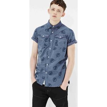 Vêtements Homme Chemises manches courtes G-Star Raw ARC 3D Bleu