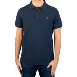 Vêtements Homme Polos manches courtes Timberland Polo  SS Slim Millers RVR Bleu