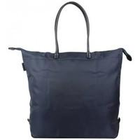 Sacs Femme Cabas / Sacs shopping Duolynx Sac à main toile souple pliable  S Bleu marine