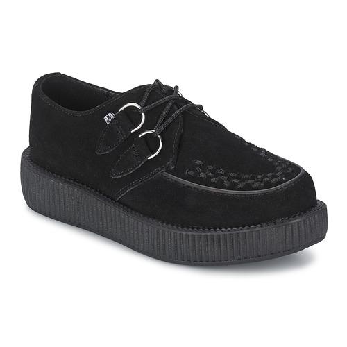 TUK MONDO LO Gris/ noir - Chaussures Derbies