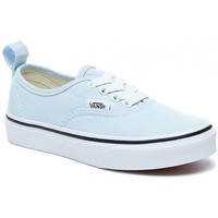 Chaussures Fille Baskets basses Vans Chaussures  Y Authentic Elastic - Baby Blue / True White Bleu