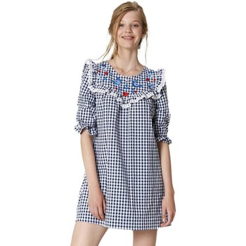 Vêtements Femme Robes courtes Maggie Sweet Vestido Love Azul Mujer Multicolore