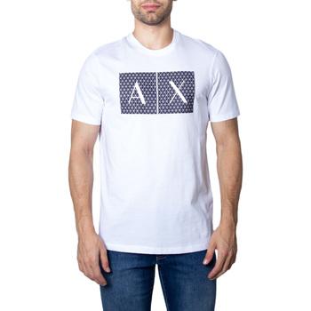 Vêtements Homme T-shirts manches courtes EAX 8NZTCK Z8H4Z Blanc