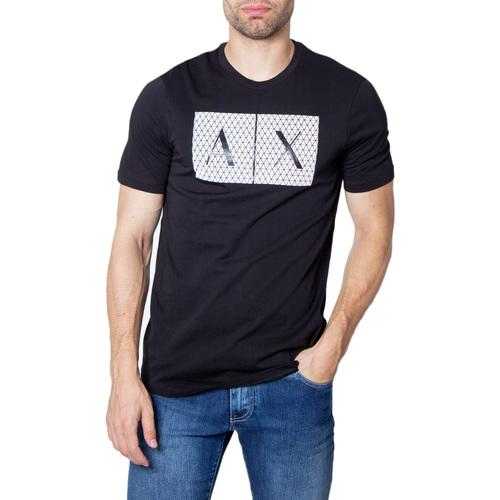 Vêtements Homme T-shirts manches courtes EAX 8NZTCK Z8H4Z Noir