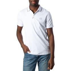 Vêtements Homme Polos manches courtes Armani Exchange 8NZF70 Z8M9Z Blanc