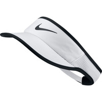 Accessoires textile Femme Casquettes Nike AeroBill Featherlight Tennis Visor White