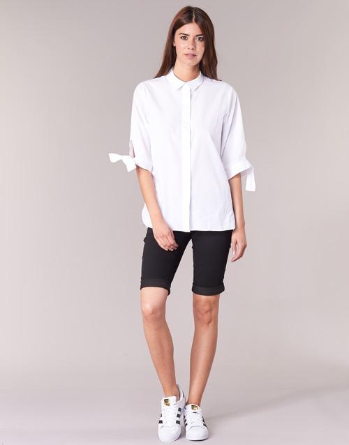 Vêtements Femme Shorts / Bermudas Freeman T.Porter BELIXA Noir