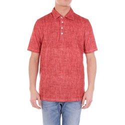 Vêtements Homme Polos manches courtes Sartorio ISCHIA3 Polo Homme Rouge Rouge
