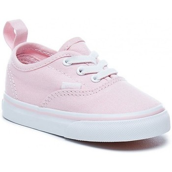 Chaussures Fille Baskets basses Vans Chaussures  T Authentic Elastic - Chalk Pink / True White Rose