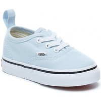 Chaussures Garçon Baskets basses Vans Chaussures  T Authentic Elastic - Baby Blue / True White Bleu