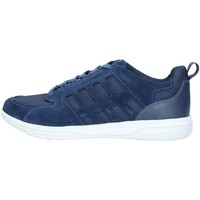 Chaussures Homme Baskets basses Geox U824AA2214 Basket Homme Blue Blue