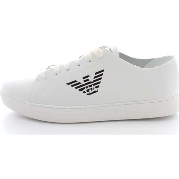 Chaussures Homme Baskets basses Armani X4C471 Sneakers Homme Blanc Blanc
