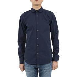 Vêtements Homme Chemises manches longues Tommy Hilfiger chemise  dm0dm04405 bleu bleu