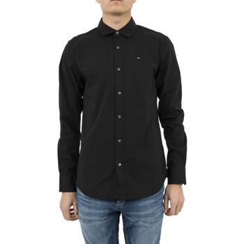 Vêtements Homme Chemises manches longues Tommy Hilfiger chemise  dm0dm04405 noir noir