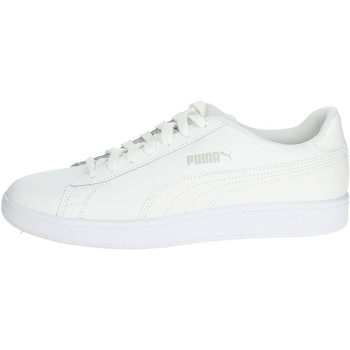Chaussures Homme Baskets basses Puma 365215 07 Petite Sneakers Homme Blanc Blanc