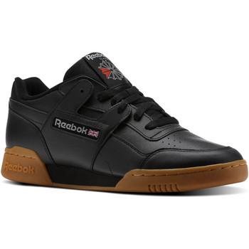 Chaussures Baskets basses Reebok Classic Workout Plus Noir / Gris