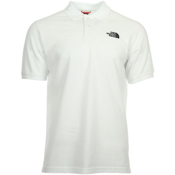 Vêtements Homme Polos manches courtes The North Face Polo Piquet White blanc