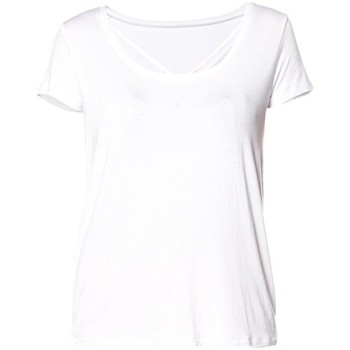 Vêtements Femme T-shirts & Polos Deeluxe T-shirt encolure fantaisie Clash Blanc