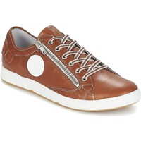 Chaussures Femme Baskets basses Pataugas Femme pataugas sneakers caramel Marron