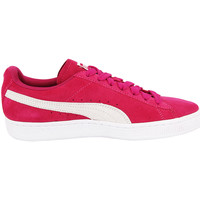Chaussures Femme Baskets basses Puma SUEDE CLASSIC W Chaussures Mode Sneakers Femme Cuir Suede rose