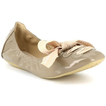 Chaussures Femme Ballerines / babies Cassis Côte D'azur Ballerines vernies JABLY Taupe