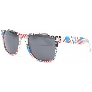Montres & Bijoux Homme Lunettes de soleil Eye Wear Lunette soleil americaine drapeau USA Bleu