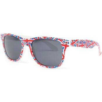 Montres & Bijoux Homme Lunettes de soleil Eye Wear Lunette de soleil drapeau Angleterre UK Rouge