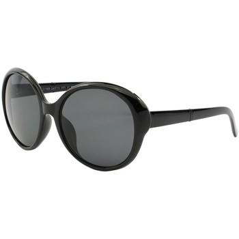 Montres & Bijoux Femme Lunettes de soleil Eye Wear Lunettes de Soleil avec monture noire Croisette Noir