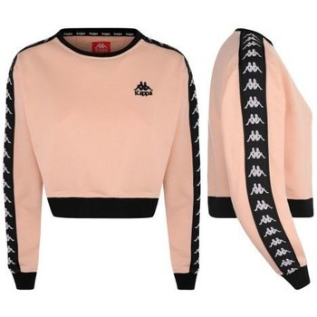 Vêtements Femme Sweats Kappa Sweat court avec bandes AYS Rose