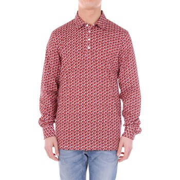 Vêtements Homme Polos manches courtes Sartorio PROCIDA5 Polo Homme Rouge Rouge