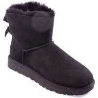Chaussures Femme Boots UGG BOOTS MINI BAILEY BOW II NOIR