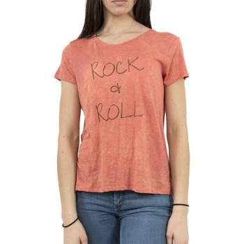 Vêtements Femme T-shirts manches courtes Lee Cooper tee shirt  006178 alaia 2333 orange orange