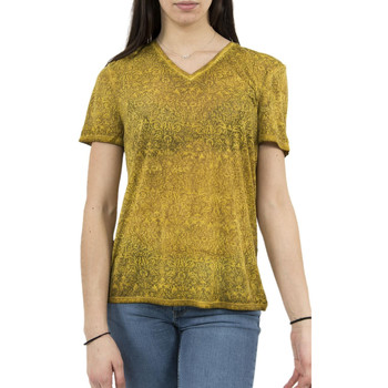 Vêtements Femme T-shirts manches courtes Lee Cooper tee shirt  006181 alika 2331 jaune jaune