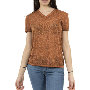 Vêtements Femme T-shirts manches courtes Lee Cooper tee shirt  006181 alika 2331 orange orange