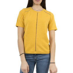 Vêtements Femme T-shirts manches courtes Lee Cooper sweat  006303 elise 2339 jaune jaune