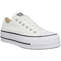 Chaussures Femme Baskets basses Converse Chuck Taylor All Star Lift toile Femme Blanc Blanc