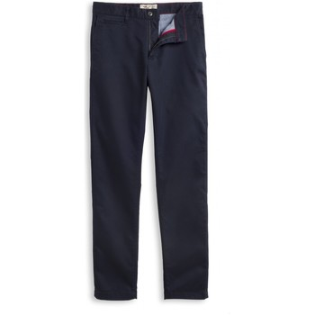 Vêtements Homme Chinos / Carrots Chevignon Pantalon chino straight NAVY