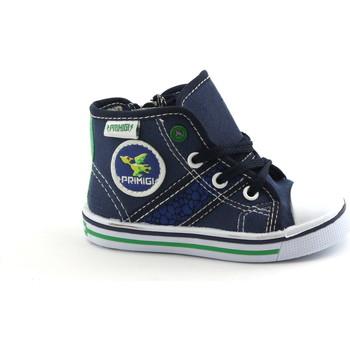 <strong>Chaussures</strong> enfant primigi 1445800 <strong>chaussures</strong> bébé bleu tissu haute attaches