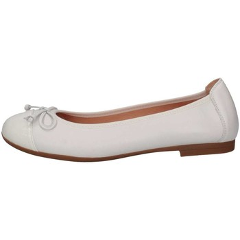 Chaussures Fille Ballerines / babies Unisa CHITO_18_SUA_PAWHITE Blanc