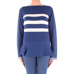 Vêtements Femme Pulls Twin Set SS83DA chemise femme Femme bleu