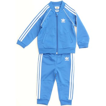 Vêtements Enfant Ensembles de survêtement adidas Originals CE1980 SWEAT SHIRT Enfant Bleue Bleue