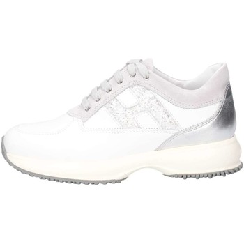 Chaussures Fille Baskets basses Hogan Junior HXC00N0O241IBK0CD1 Basket Enfant Blanc Blanc