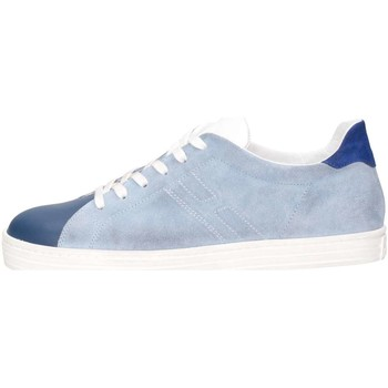 Chaussures Enfant Baskets basses Hogan HXR1410Z370HB9961D Basket Bébé Bleu Bleu