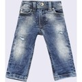 Vêtements Enfant Jeans droit Diesel SLEENKER-B 00K1MG JEANS Enfant DENIM MEDIUM BLUE DENIM MEDIUM BLUE