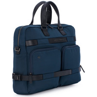 Sacs Homme Porte-Documents / Serviettes Piquadro CARTELLA PORTA PC 2 MANICI Blu