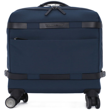 Sacs Homme Porte-Documents / Serviettes Piquadro CARTELLA TROLLEY Blu