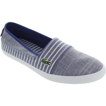 Chaussures Femme Slips on Lacoste Marice Bleu